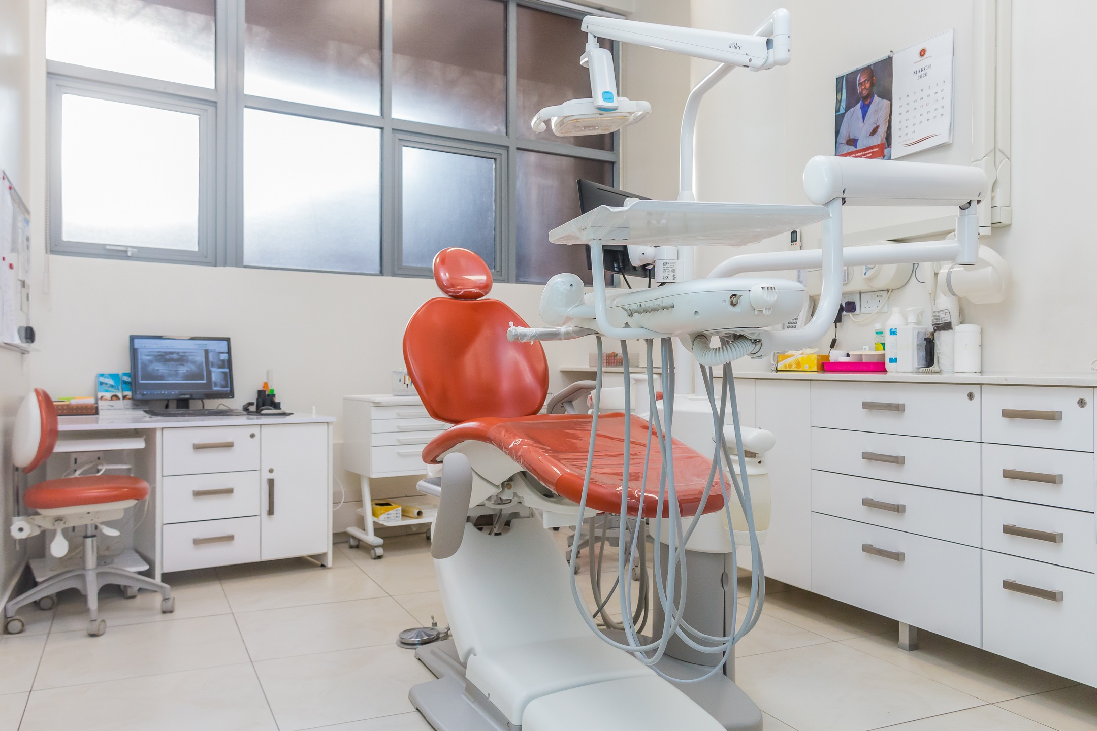 a modern dental facility